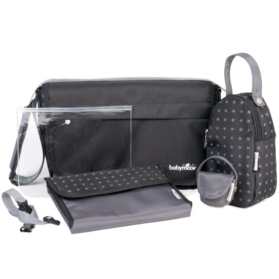 babymoov Messenger Changing Bag - Black-2