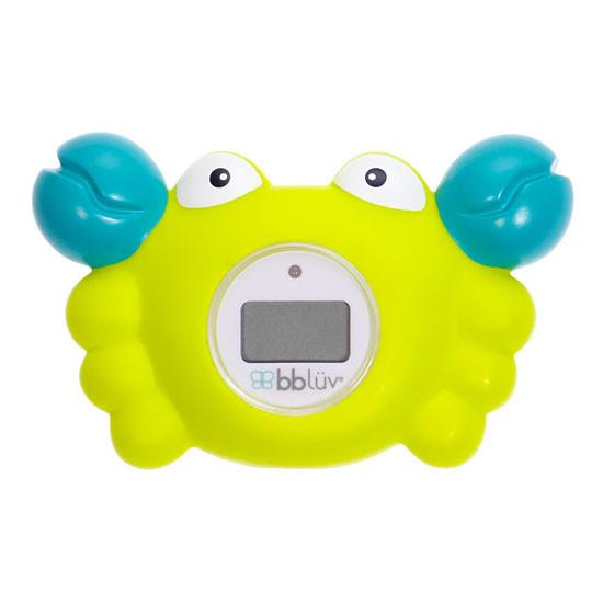 BBLuv Krab 3-in-1 Thermometer & Bath Toy - Fahrenheit-2