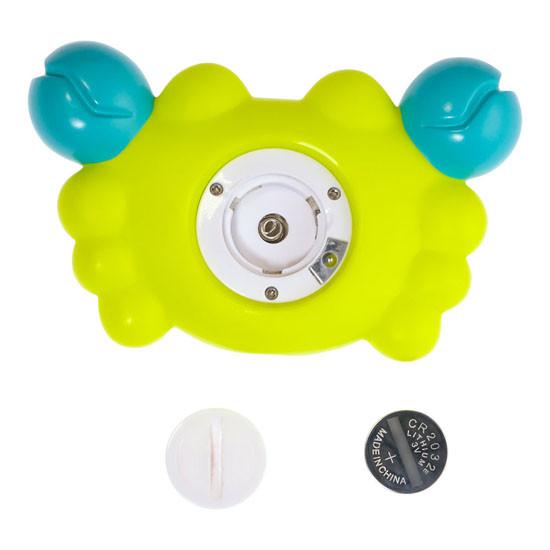 BBLuv Krab 3-in-1 Thermometer & Bath Toy - Fahrenheit-4