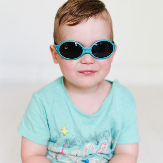BBLuv Solar Baby & Toddler Sunglasses - Aqua -3