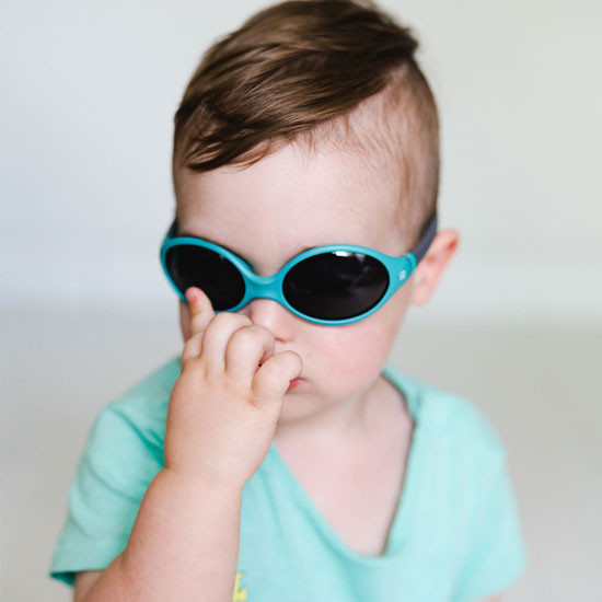 BBLuv Solar Baby & Toddler Sunglasses - Aqua -4