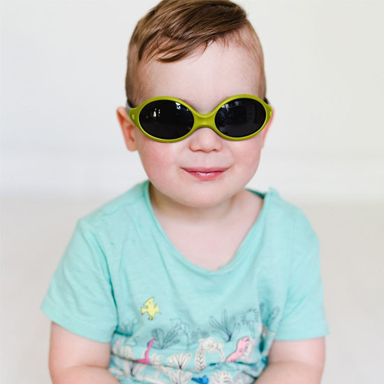 BBLuv Solar Baby & Toddler Sunglasses - Lime -3