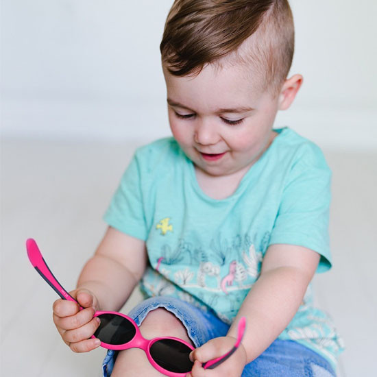 BBLuv Solar Baby & Toddler Sunglasses - Pink -4