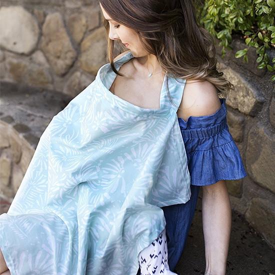 Bebe Au Lait Premium Cotton Nursing Cover - Acapulco-3
