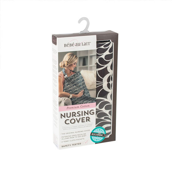 Bebe Au Lait Premium Cotton Nursing Cover - Tribeca-3