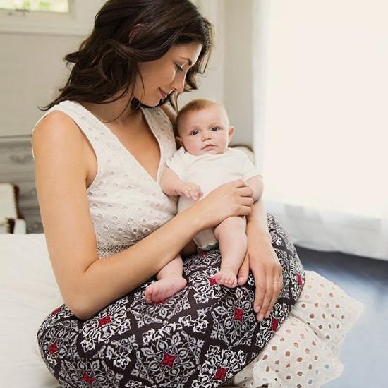 Bebe Au Lait Premium Cotton Nursing Pillow - Amalfi-3