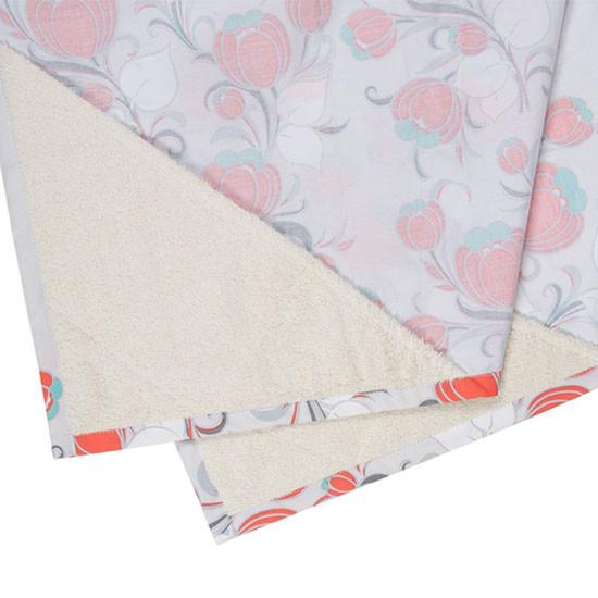Bebe Au Lait Premium Organic Cotton Nursing Cover - Primrose-2