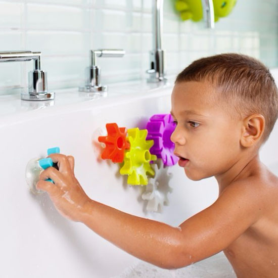 Boon Cogs Building Bath Toy Set-3