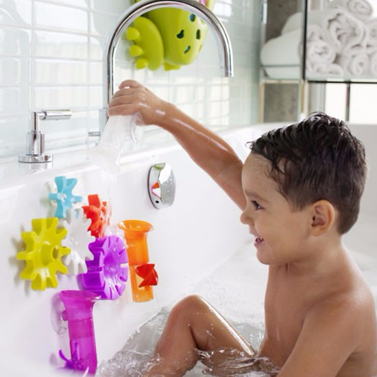 Boon Cogs Building Bath Toy Set-4