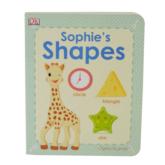 Calisson Inc So'Pure Teether & Sophie's Shapes Book-2