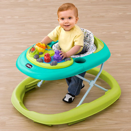 Chicco Walky Talky Baby Walker - Spring -4