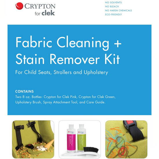 Clek Crypton for Clek Fabric Cleaning + Stain Remover Kit-2
