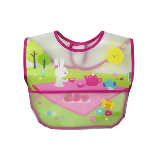 i play. Wipe-Off Bibs - 3 pack - Pink Picnic Set-2
