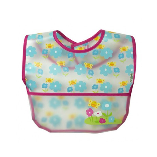i play. Wipe-Off Bibs - 3 pack - Pink Picnic Set-3