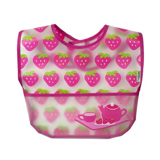 i play. Wipe-Off Bibs - 3 pack - Pink Picnic Set-4