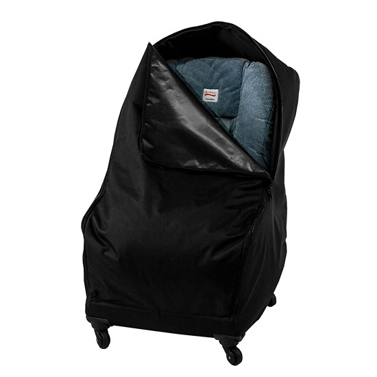 J.L. Childress Co. Spinner Wheelie Deluxe Car Seat Travel Bag-3