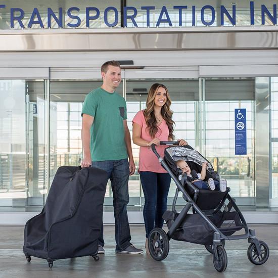 J.L. Childress Co. Spinner Wheelie Deluxe Car Seat Travel Bag-4