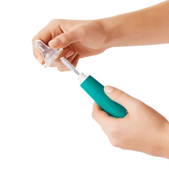 OXO TOT Bottle Brush - Teal-4