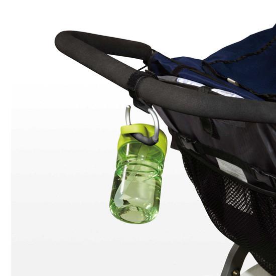 OXO TOT Handy Stroller Hook - 2 Pack - Grey -3