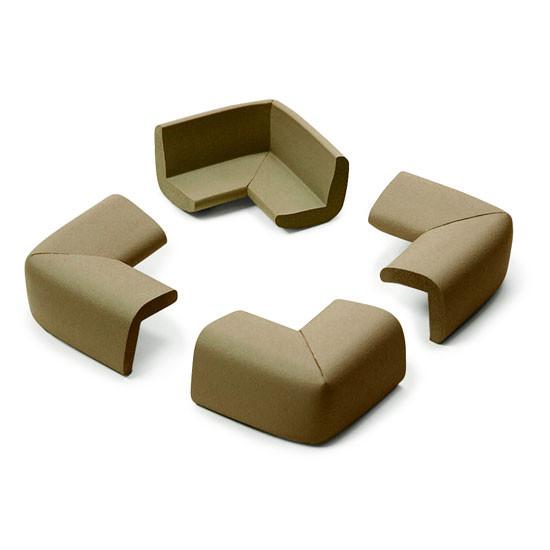 Prince Lionheart Cushiony Corner Guards - Chocolate