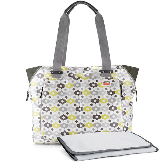 Skip Hop Jonathan Adler Light and Luxe Diaper Tote - Abacus-3