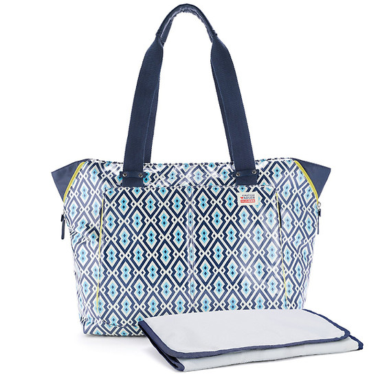 Skip Hop Jonathan Adler Light and Luxe Diaper Tote - Syrie-3