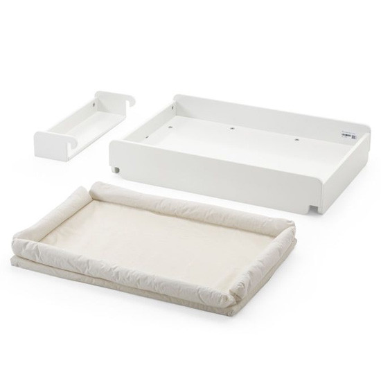 STOKKE Home Changer with Mattress - White-2