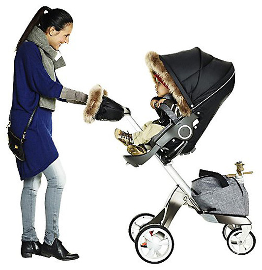 STOKKE Xplory Winter Kit - Black -3