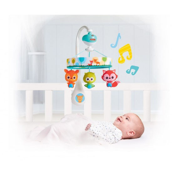 Tiny Love Tiny Friends Lullaby Mobile -2