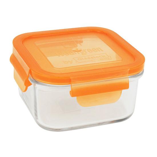 Wean Green Lunch Cube - Blue-3