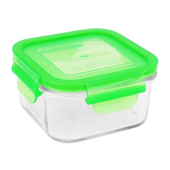 Wean Green Lunch Cube - Orange-4