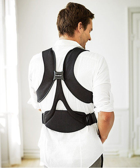 Baby Bjorn Baby Carrier Miracle Organic Cotton - Black/Brown-2