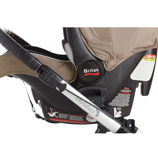 Baby Jogger Car Seat Adapter w/ Bar - Select/Premier/LUX Single - Britax/BOB -3