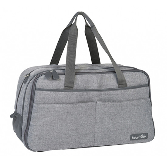 babymoov Traveller Changing Bag - Smokey/Heather Grey