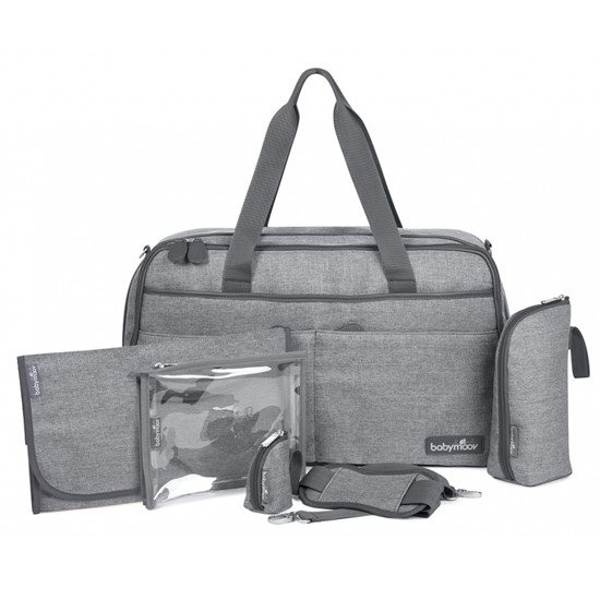babymoov Traveller Changing Bag - Smokey/Heather Grey-2