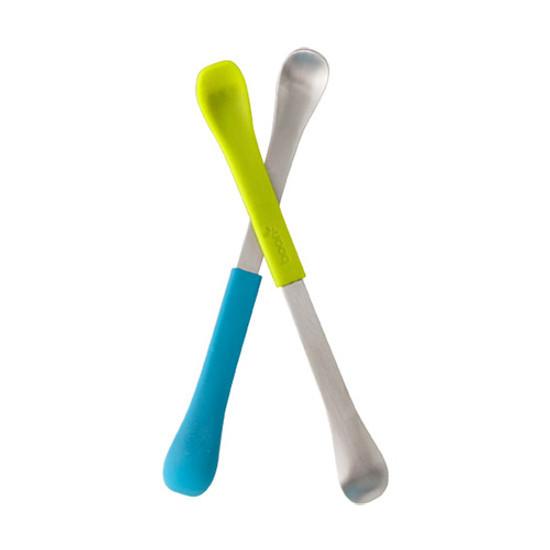 Boon Swap 2-in-1 Feeding Spoon - Blue/Green