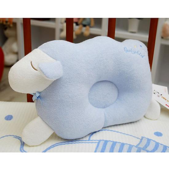 Bradcal Lamb Donut Pillow - Blue