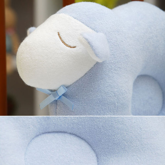 Bradcal Lamb Donut Pillow - Blue-2
