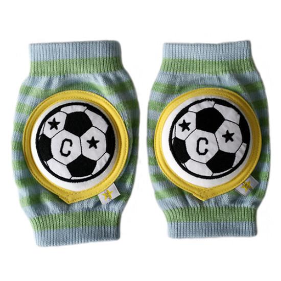 Crawlings Baby Knee Pad - Kiwi Green Soccer