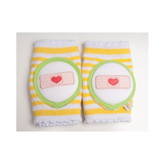 Crawlings Baby Knee Pad - Yellow Bandage