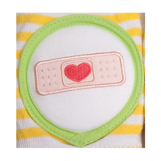 Crawlings Baby Knee Pad - Yellow Bandage -2