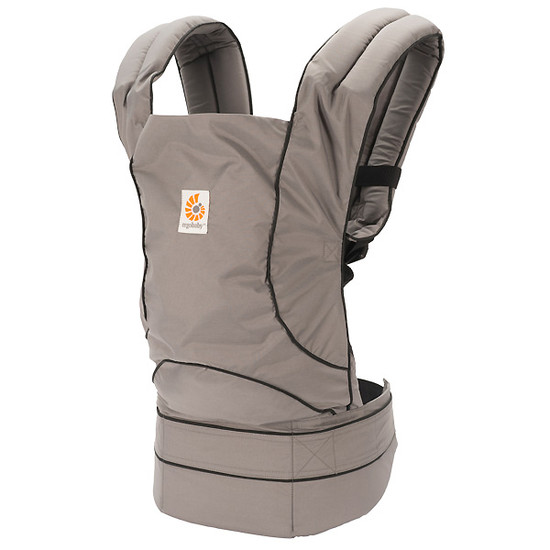 Ergo Baby Travel Baby Carrier - Urban Chic Graphite