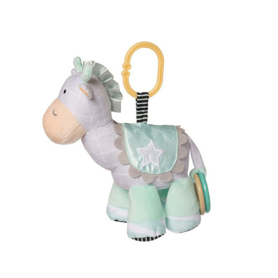 Manhattan Toy Playtime Plush Giraffe Travel Toy