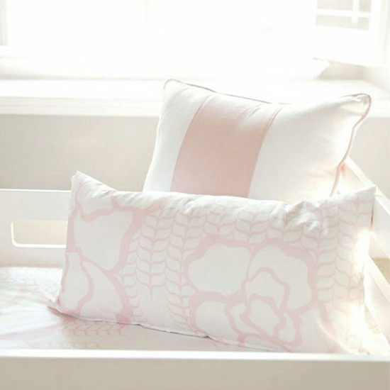 "Oilo 12""x24"" Capri Pillow - Blush"