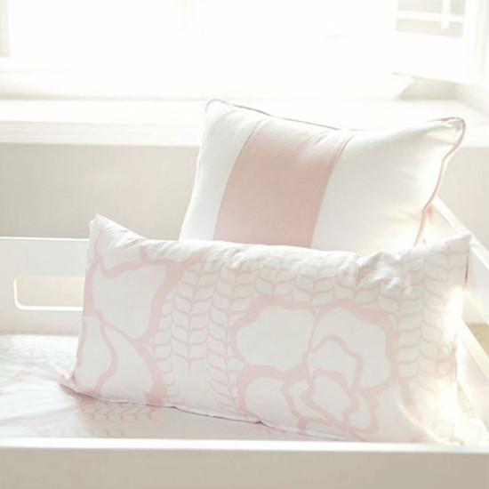 "Oilo 12""x24"" Capri Pillow - Blush"