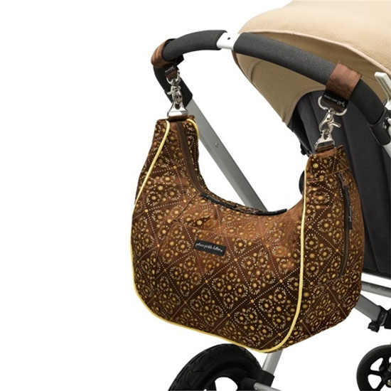 Petunia Pickle Bottom Touring Tote - Toffee Roll-2