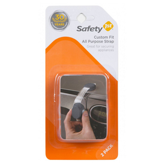 Safety 1st Custom Fit All Purpose Strap - 2 Pack