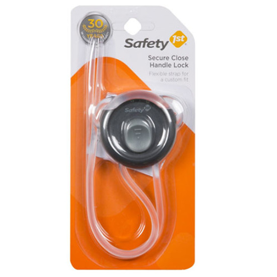 Safety 1st Secure Close Handle Lock - Charcoal