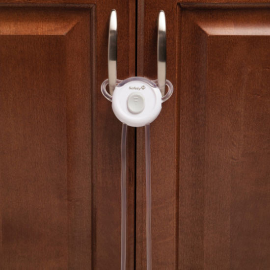 Safety 1st Secure Close Handle Lock - White-3