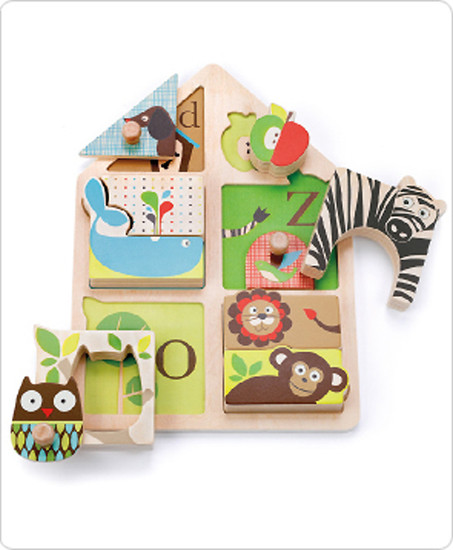 Skip Hop Alphabet Zoo Match & Play Puzzle-3